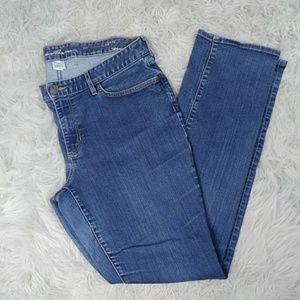 Eddie Bauer Curvy Straight Cut Jeans Sz14